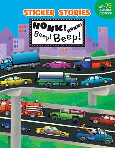 9780448412740: Honk! Honk! Beep! Beep! (Sticker Stories)