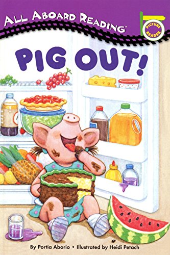 9780448412948: Pig Out! [With 24 Flash Cards] (All Aboard Picture Reader)