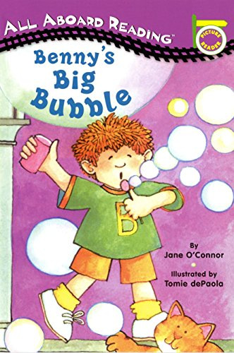 9780448413037: Benny's Big Bubble (All Aboard Picture Reader)