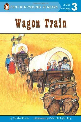 9780448413358: Wagon Train (All Aboard Reading. Station Stop 2)