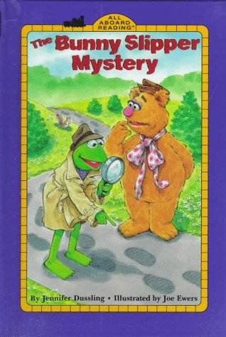 9780448416151: The Bunny Slipper Mystery (All Aboard Reading (Library))