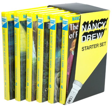 9780448416731: Nancy Drew Starter Set: The Secret of the Old Clock/The Hidden Staircase/The Bungalow Mystery/The Mystery at Lilac Inn/The Secret of Shadow Ranch/The Secret of Red Gate Farm