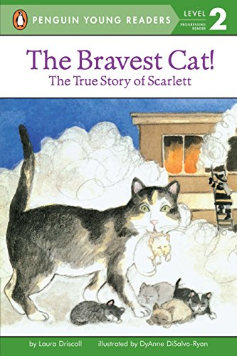 9780448417035: The Bravest Cat! The True Story of Scarlett (All Aboard Reading)
