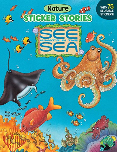 9780448417240: See What's in the Sea (Sticker Stories)