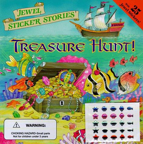 Treasure Hunt! (Jewel Sticker Stories): Catherine Daly-Weir