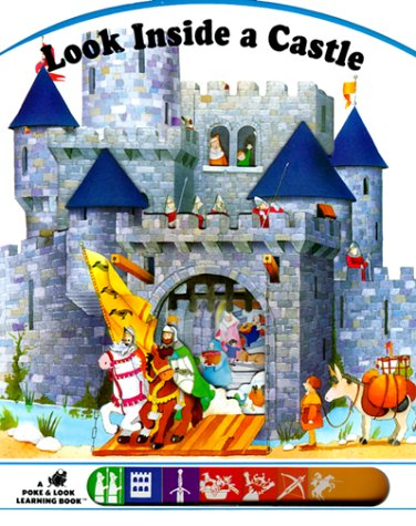 9780448418896: Look inside a Castle (Poke and Look)