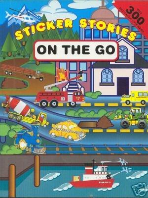 Sticker Stories : On The Go (Honk!: Norman Gorbaty
