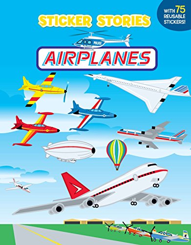 9780448419633: Airplanes [With 75 Reusable Stickers] (Sticker Stories)