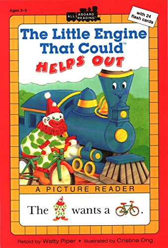 9780448419732: The Little Engine That Could Helps Out