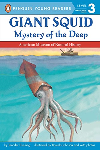 9780448419954: Giant Squid: Mystery of the Deep (All Aboard Science Reader: Station Level 3)