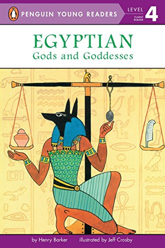 9780448420295: Egyptian Gods and Goddesses (Penguin Young Readers, Level 4)