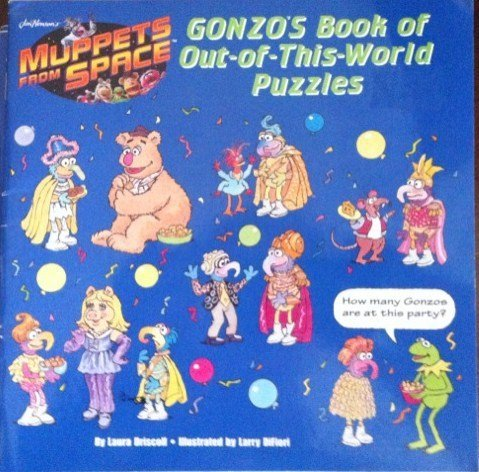 9780448420585: Muppets from space: gonzo's book of out-of-this world puzzles 8 x 8 puzz