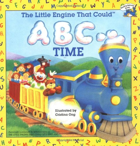 9780448421667: The Little Engine That Could ABC Time