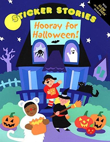 9780448421711: Hooray for Halloween: Glow Sticker Stories