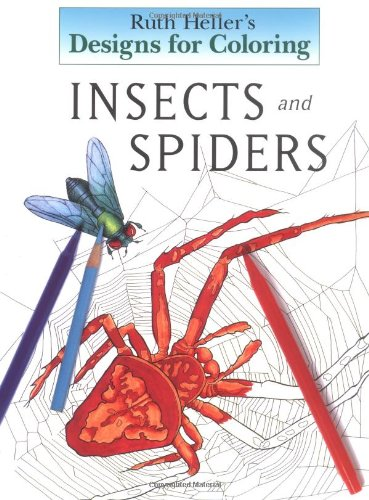 9780448422503: Designs for Coloring: Insects and Spiders