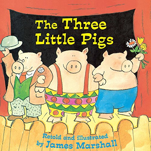 9780448422886: The Three Little Pigs (Reading Railroad)