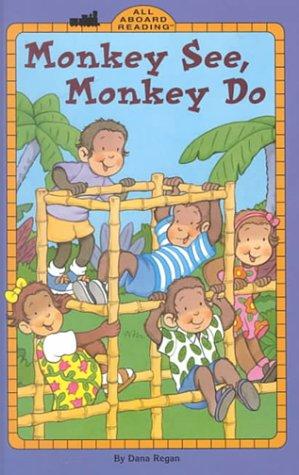 9780448424149: Monkey See, Monkey Do GB (All Aboard Reading)