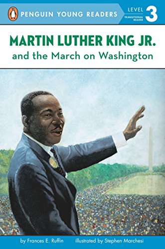 9780448424217: Martin Luther King, Jr. and the March on Washington (Penguin Young Readers, Level 3)