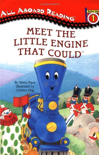 9780448424828: Meet the Little Engine That Could (All Aboard Reading)
