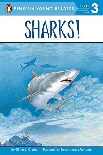 9780448424903: Sharks!: All Aboard Science Reader Station Stop 2 (Penguin Young Readers. Level 3)