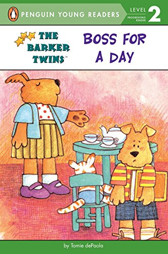 9780448425443: Boss for a Day (The Barker Twins)