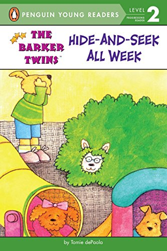 9780448425450: Hide-and-Seek All Week (The Barker Twins)