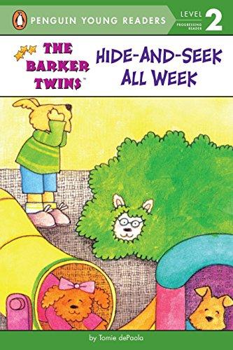 9780448425450: Hide-and-Seek All Week (The Barker Twins)