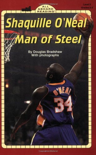 9780448425528: Shaquille O'Neal Man of Steel: Man of Steel