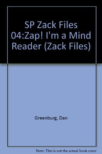 SP Zack Files 04:Zap! I'm a Mind Reader (9780448425610) by Dan Greenburg