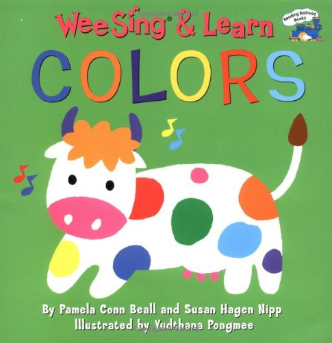 9780448425917: Wee Sing & Learn Colors (Reading Railroad)
