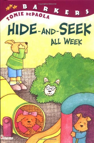 9780448426174: Hide-and-Seek All Week (All Aboard Reading)