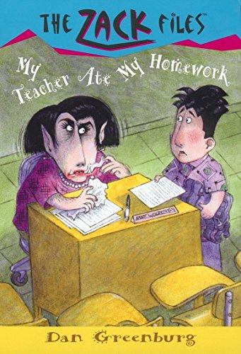 9780448426839: Zack Files 27: My Teacher Ate My Homework (The Zack Files)
