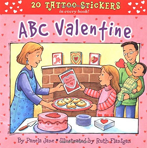 9780448428277: ABC Valentine (Tattoo Stickers)