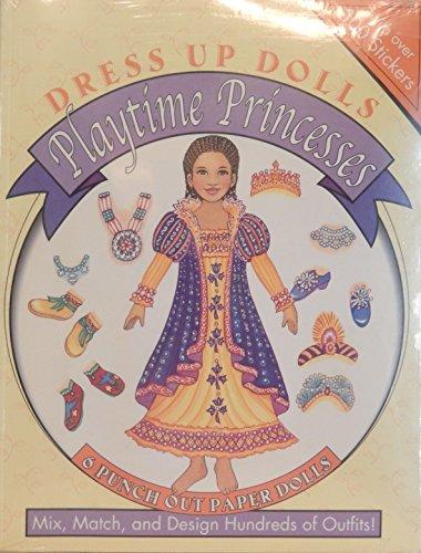 9780448428406: Playtime Princesses Dress Up Dolls