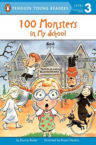 9780448428598: 100 Monsters in My School (Penguin Young Readers, Level 3)