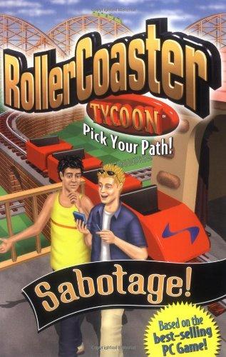 9780448428642: Roller Coaster Tycoon 2: Sabotage!