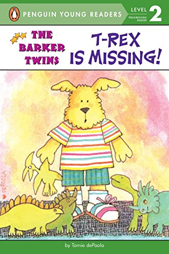 9780448428703: T-Rex Is Missing!: A Barkers Book (The Barker Twins)