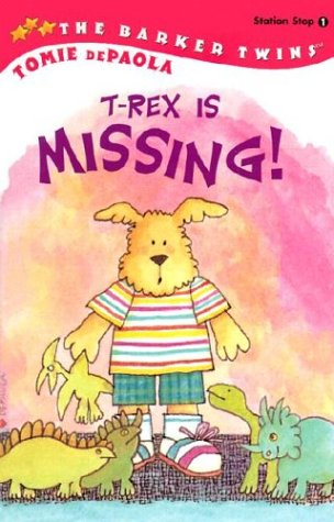 9780448428826: T-Rex Is Missing! (GB): A Barkers Book (All Aboard Reading)