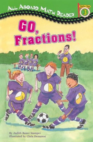 9780448431390: Go, Fractions! (GB) (All Aboard Math Reader)
