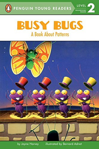 Busy Bugs: A Book About Patterns (Penguin: Harvey, Jayne