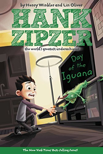 9780448432120: Day of the Iguana (Hank Zipzer; The World's Greatest Underachiever (Grosset Paperback))
