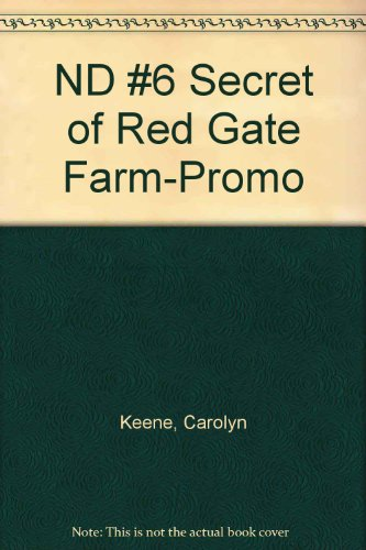 9780448432946: The Secret of Red Gate Farm (Nancy Drew, Book 6)