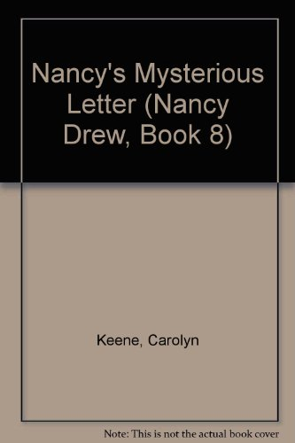 9780448432960: ND #8 Nancy's Mysterious Letter-Promo (Nancy Drew)