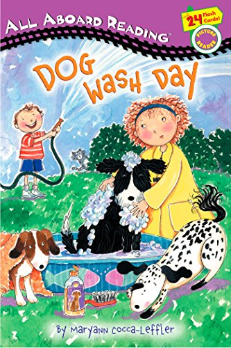 9780448433707: Dog Wash Day: All Aboard Picture Reader