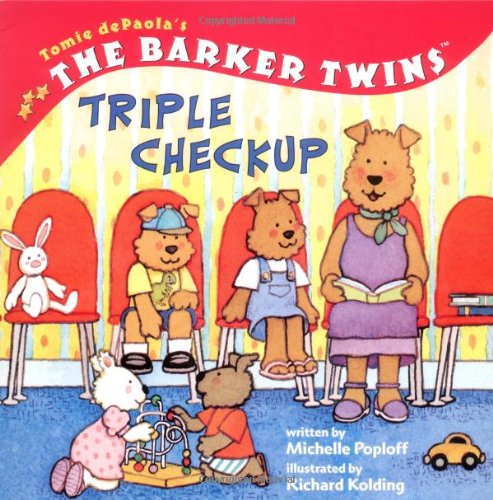 9780448434841: The Barker Twins: Triple Check-Up