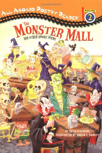 9780448435428: The Monster Mall and Other Spooky Poems (All Aboard Poetry Reader)