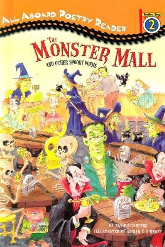 9780448435435: The Monster Mall and Other Spooky Poems (All Aboard Poetry Reader)