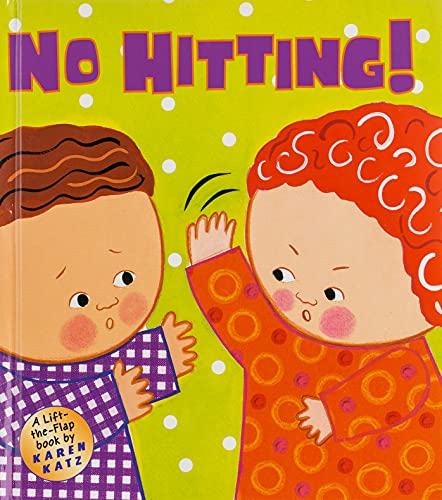9780448436128: No Hitting!: A Lift-The-Flap Book (Karen Katz Lift-the-Flap Books)