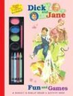 9780448436357: Fun and Games: A Grosset & Dunlap Color and Activity Book-Paint and Crayons (Dick and Jane)