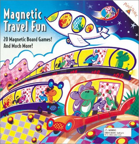 9780448440866: Magnetic Travel Fun: 20 Magnet